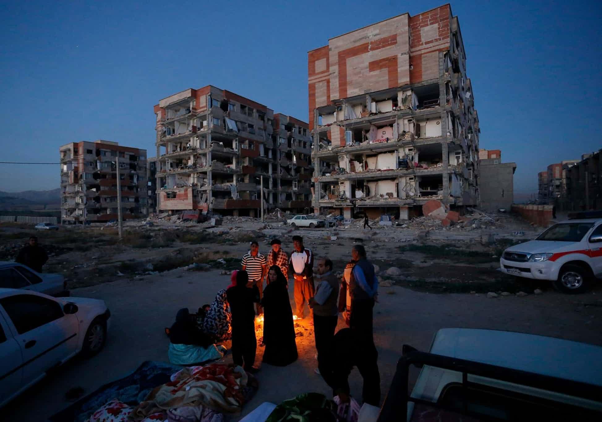 زلزله 7 ریشتری کرمانشاه