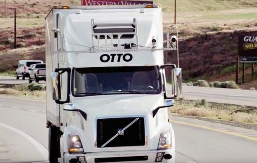 کامیون خودران اوبر